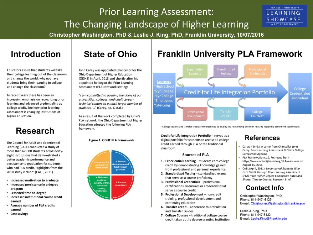 King L  Franklin's PLA Framework .jpg