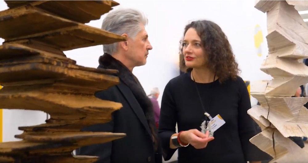 Claudia & Sylvio Eisl auf der ARTe18, Sindelfingen