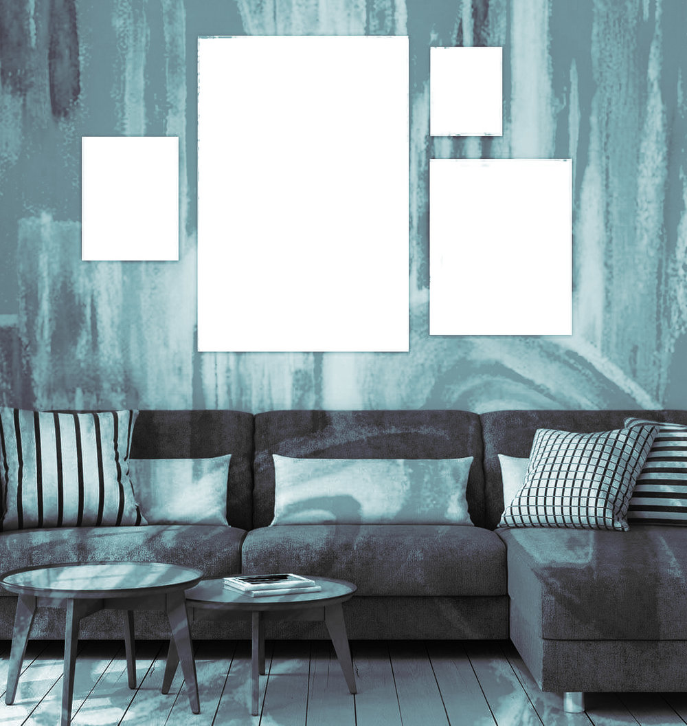 2. Choose a Size - Pick from landscape, portrait, or square format in a variety of sizes to suit your space. I will create a custom listing for you on my site and after you pay the downpayment, I will get started on your custom painting.