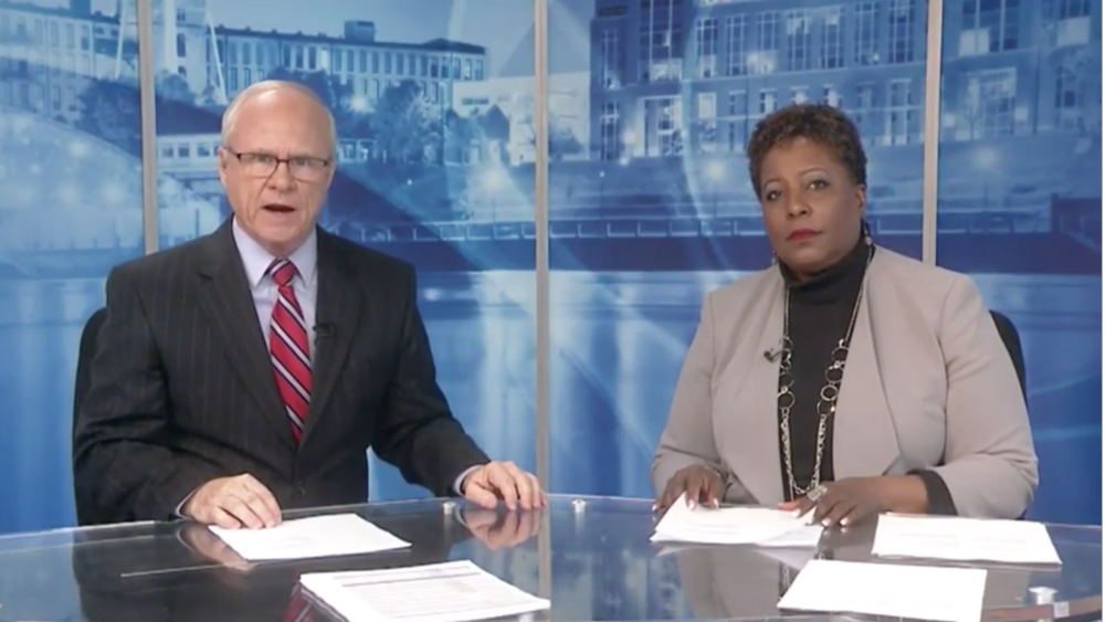 News Anchors Phil Scoggins and Teresa Whitaker