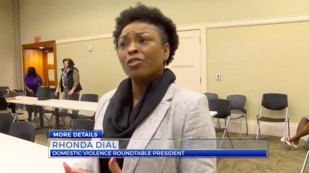 Rhonda Dial, Domestic Violence Roundtable President
