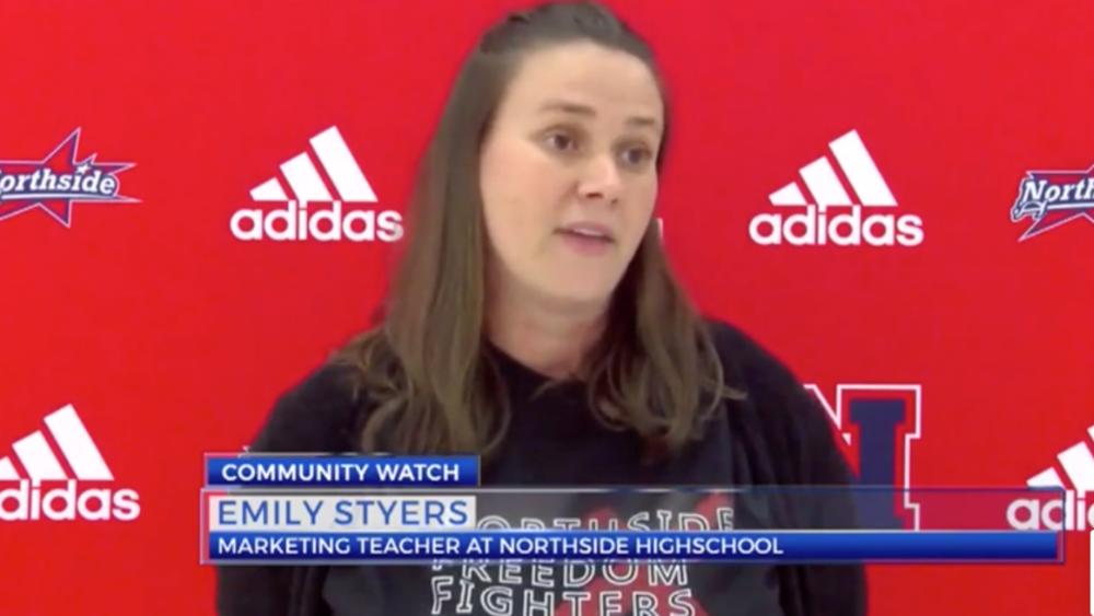 Northside High School Marketing Teacher and Deca Club Sponsor Emily Stryers