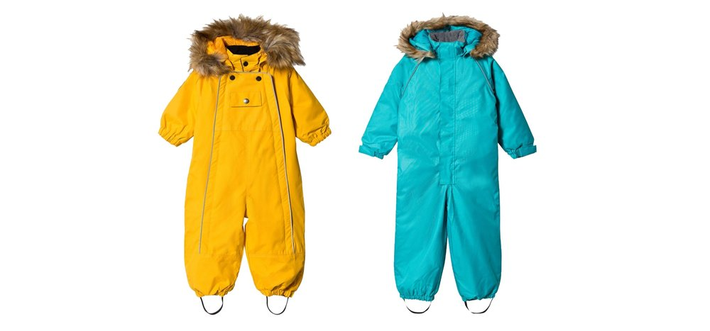 Shop Kuling snowsuits at  Alex and Alexa.