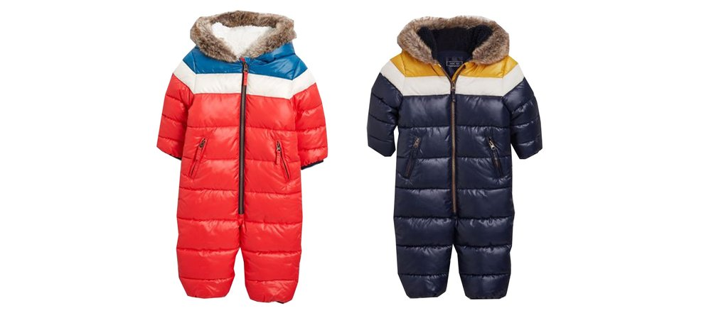 Shop Next snowsuits  here.