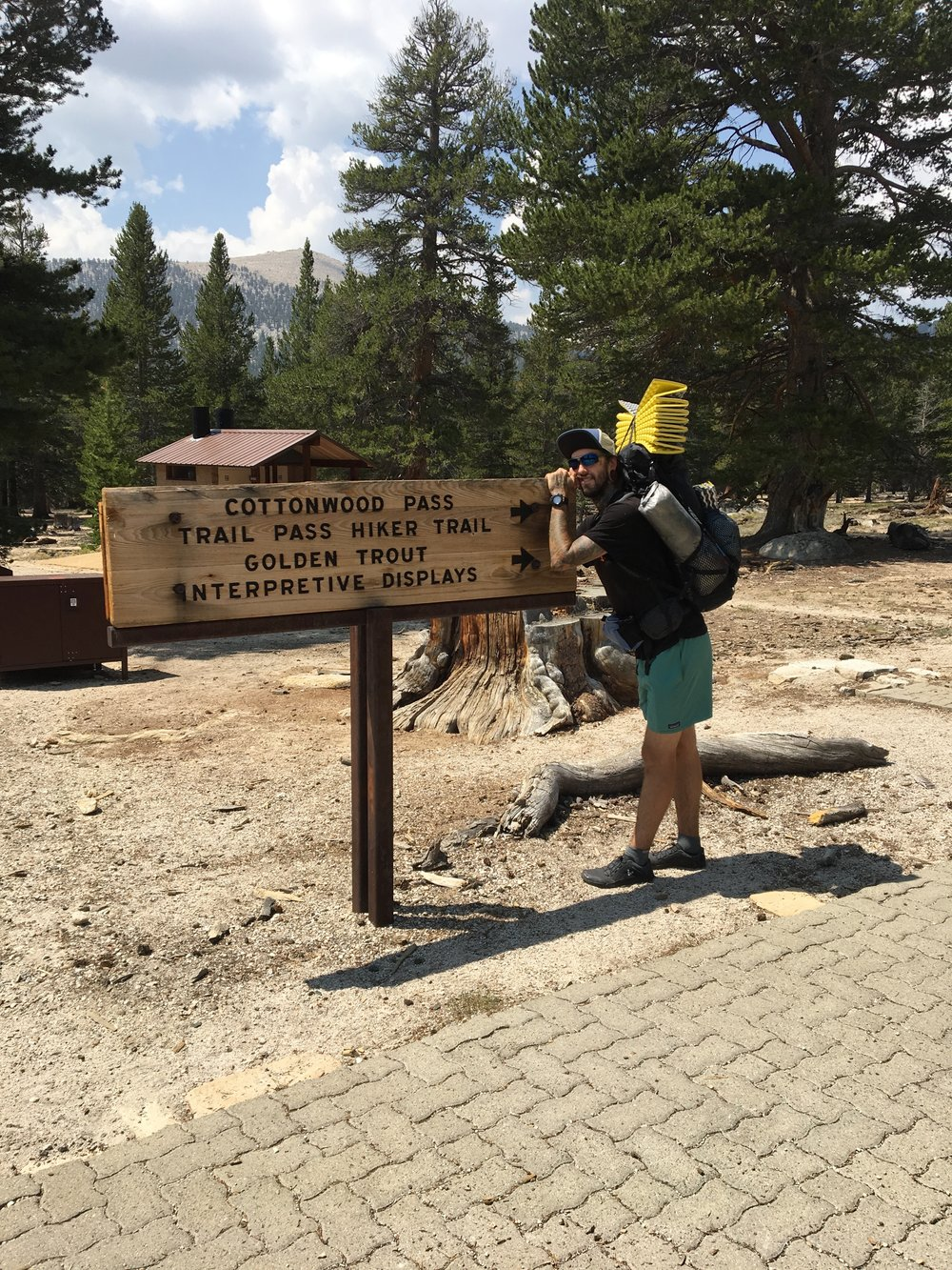 Cottonwood Pass Trailhead!