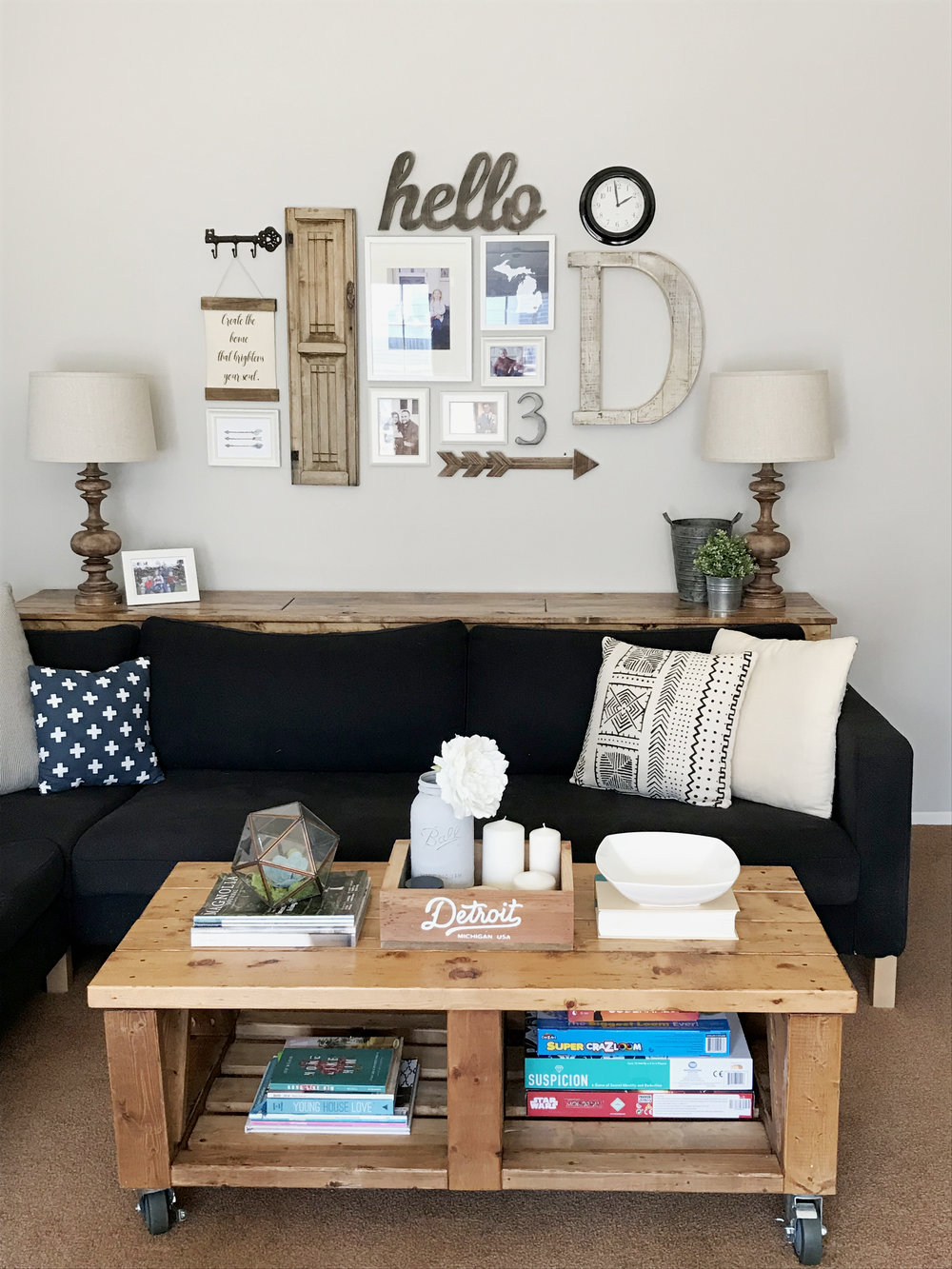 How To Style A Coffee Table Grain Galley Interiors - Super low coffee table