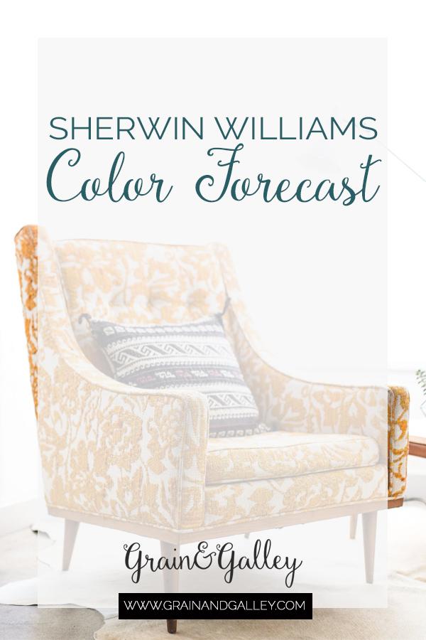 Sherwin Williams Color Forecast 2019 — Grain + Galley // Interior Design
