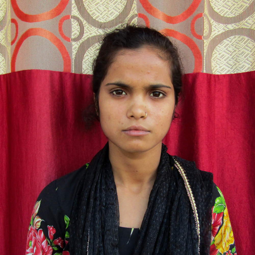 Bauli - Neysa is 35 years old and at risk of human trafficking. Residing in Bihar, India, she is married with five children ages 4 to 17, her family's average household income is about $5.00 a day.