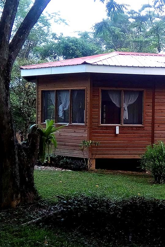 BungalOW Deluxe - Bungalow Deluxe is very private and secluded, located less than 2 minutes walking from the Lodge. With two rooms and a private bath, it's perfect for small families or couples who'd like extra room. Holds 2-6 guests.
