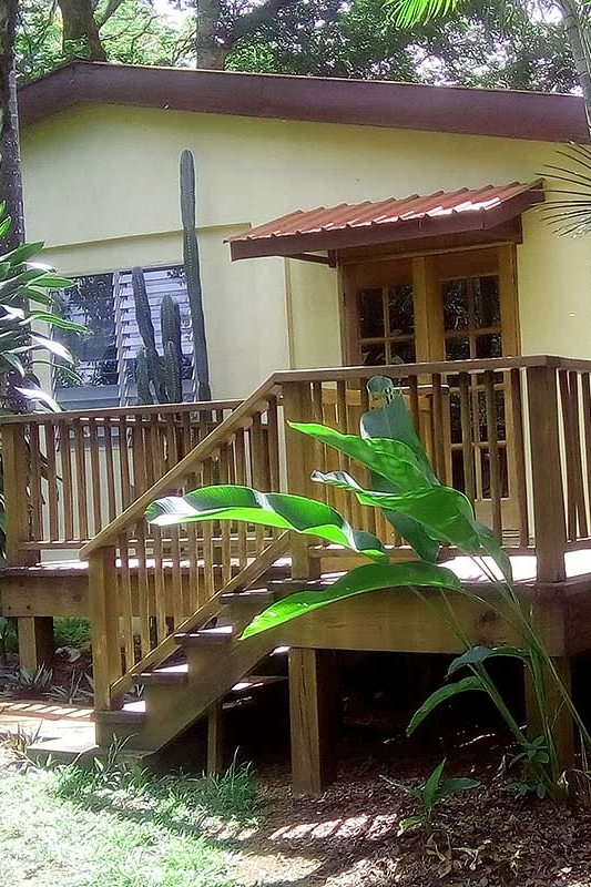 Mopan House - Mopan Suite is perfect for smaller groups. The house holds up to 8 guests in 4 bedrooms and 2 baths. The suite includes a living room and front porch.