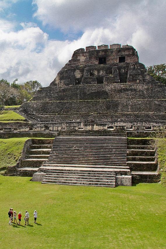 Ancient maya sites -