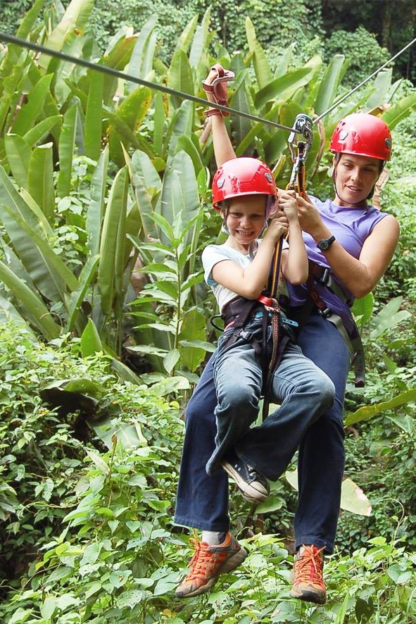Family Package - The lodge is well-suited for families and with so much to do in Cayo this could be your most memorable family vacation ever! Journey through tropical rain forests, explore ancient Maya ruins, sacred caves and underground rivers and so much more