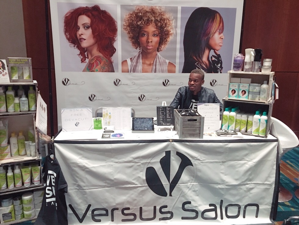 The Versus Salon Booth