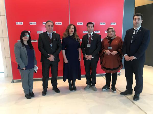 Bundestag Helin Evrim Sommer Delegation Duhok