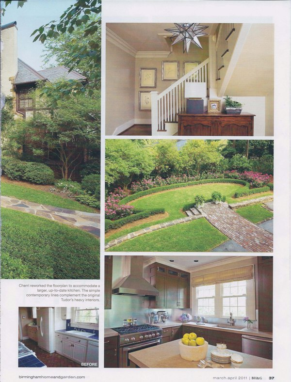 Birmingham Home & Garden Magazine 2011 Nick of Time page 4 architecture interior and exterior design Alabama