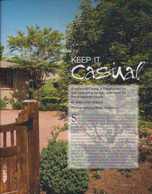Keep it casual page 2 architecture interior and exterior design Alabama