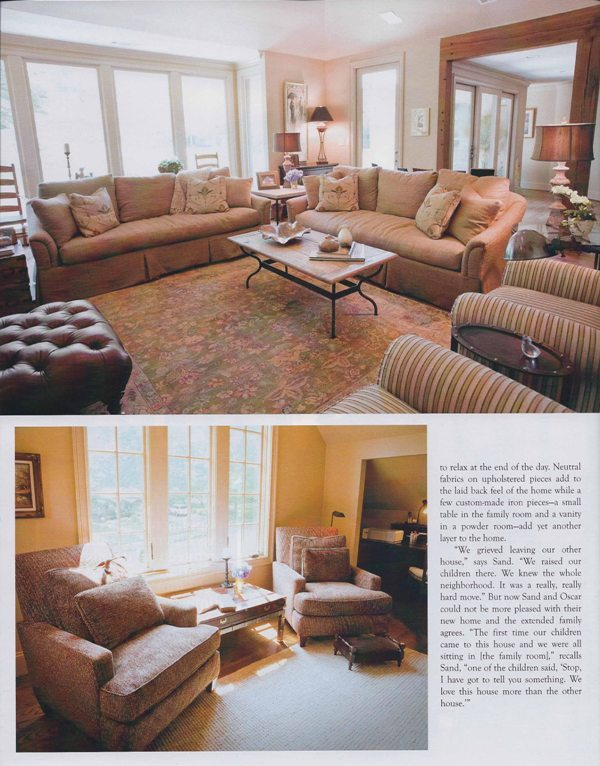 B-metro Magzine 2010 Keep it causal page 5 architecture interior and exterior design Alabama