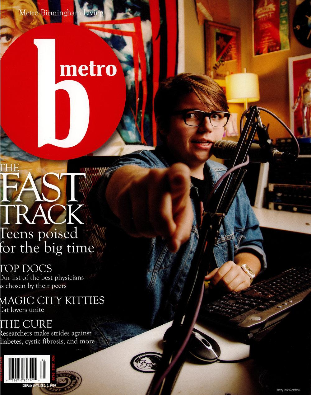 B-metro Magazine 2016 7 sticks lake house cover page architecture exterior and interior design Alabama