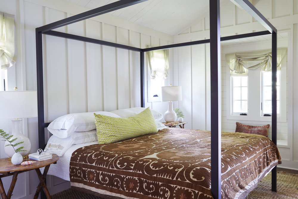 Bedroom addition to Camp Coleman Lake House (Florence, AL) #architecture #interior #lakeliving