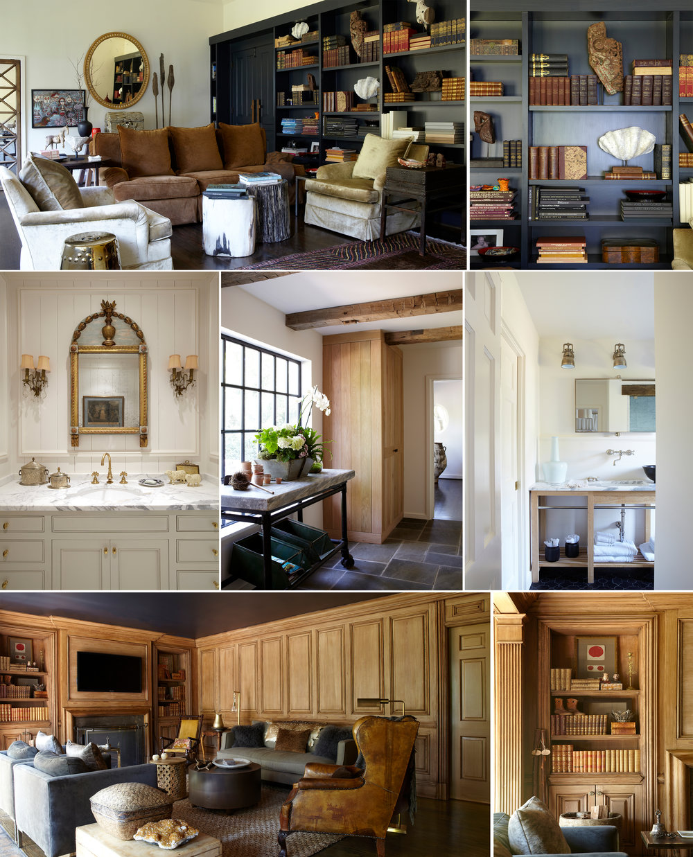 Alabama Abingdon Charm collage interior design, living room, den, bathroom, hallway architecture