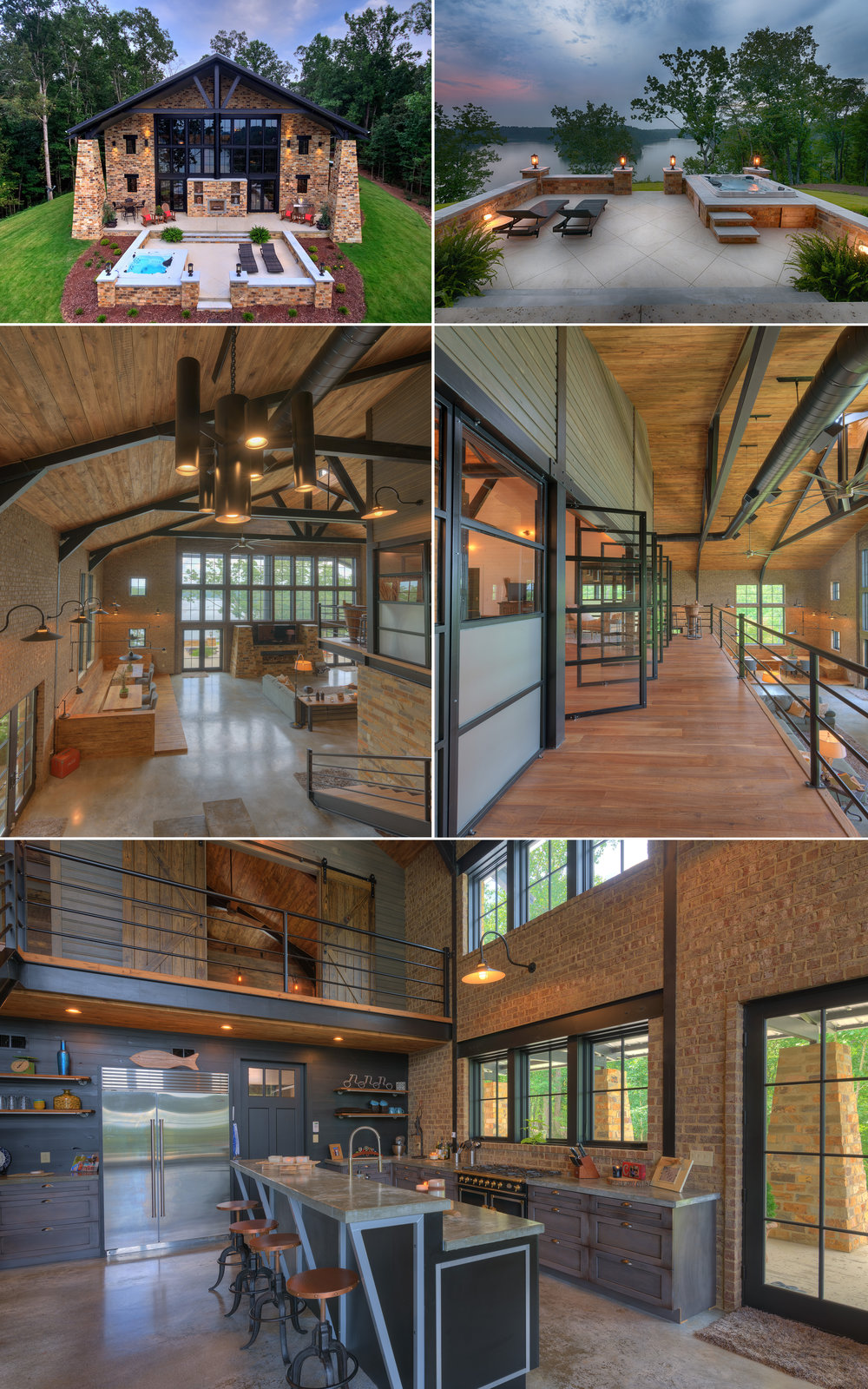 Crider collage exterior and interior design architecture Alabama