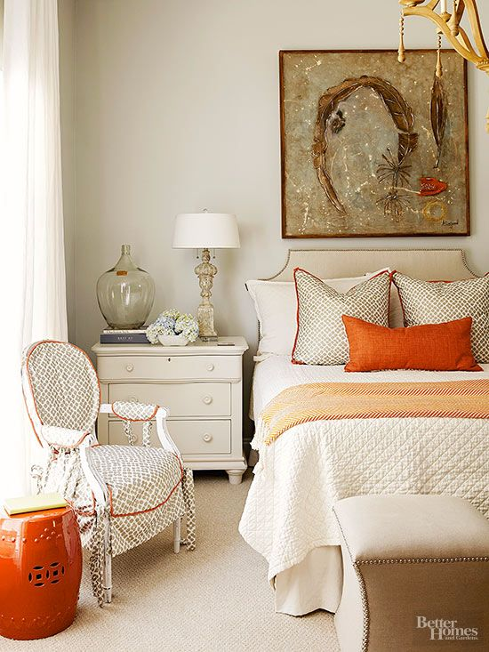 Guest Bedroom fall