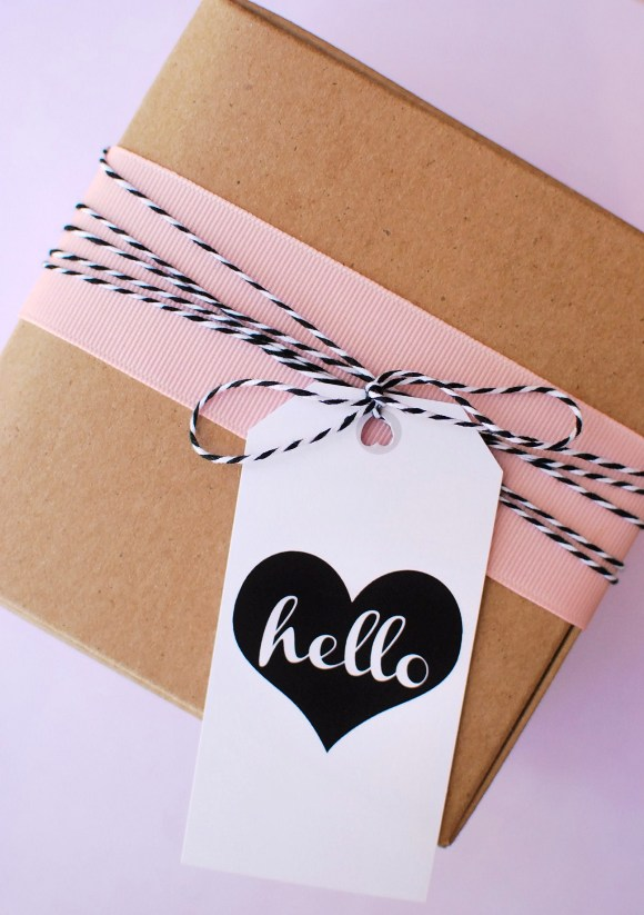 Gift Tag and Twine