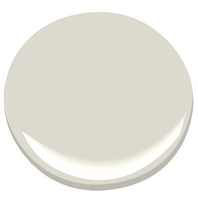 "MAIN WALL COLOR - Benjamin Moore ""Light Pewter"" 1464 in Matte Finish"
