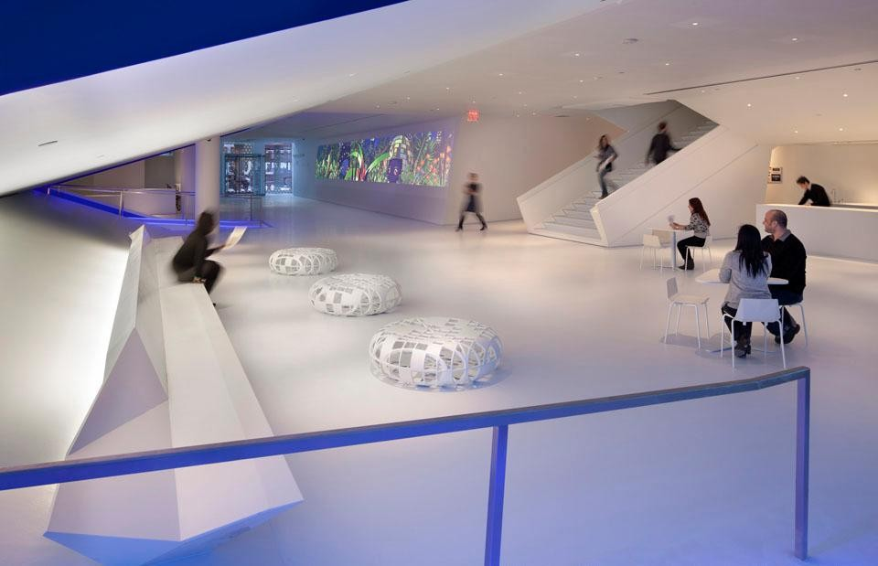 Museum of the Moving Image, New York. Designed by Leeser Architects. Photo © Peter Aaron.