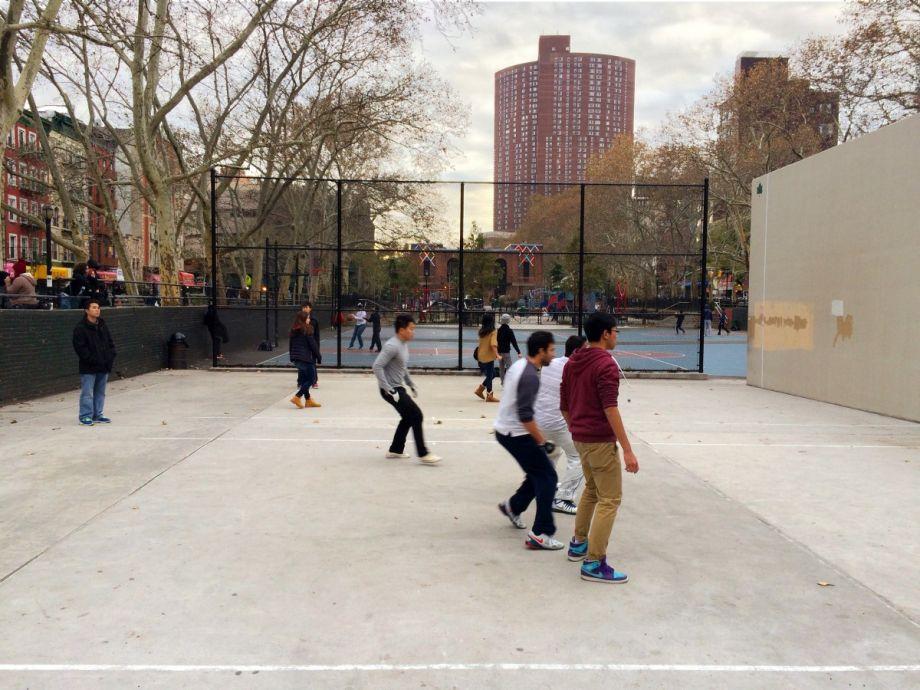 Sara D. Roosevelt Park,New York City. Photo Gideon Fink Shapiro
