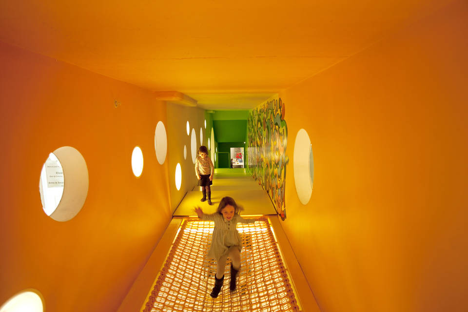 WORKac, Children's Museum of the Arts, New York. Photo Ari Marcopoulos