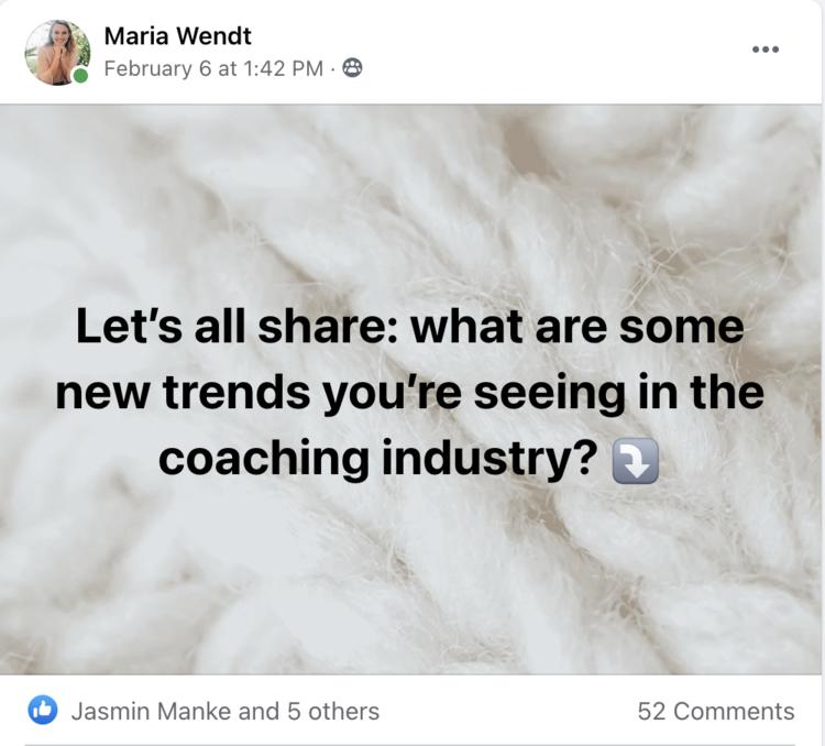 Coaching Trends 2021