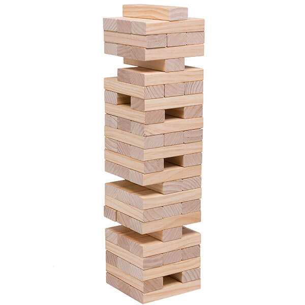 giant tumbling tower  |  $10 rental