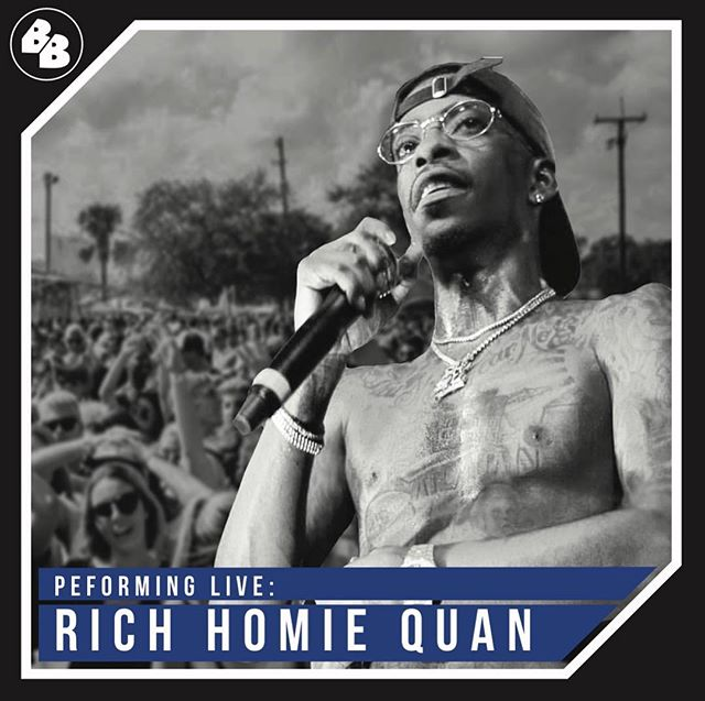 Live performance by @richhomiequan #borderbash