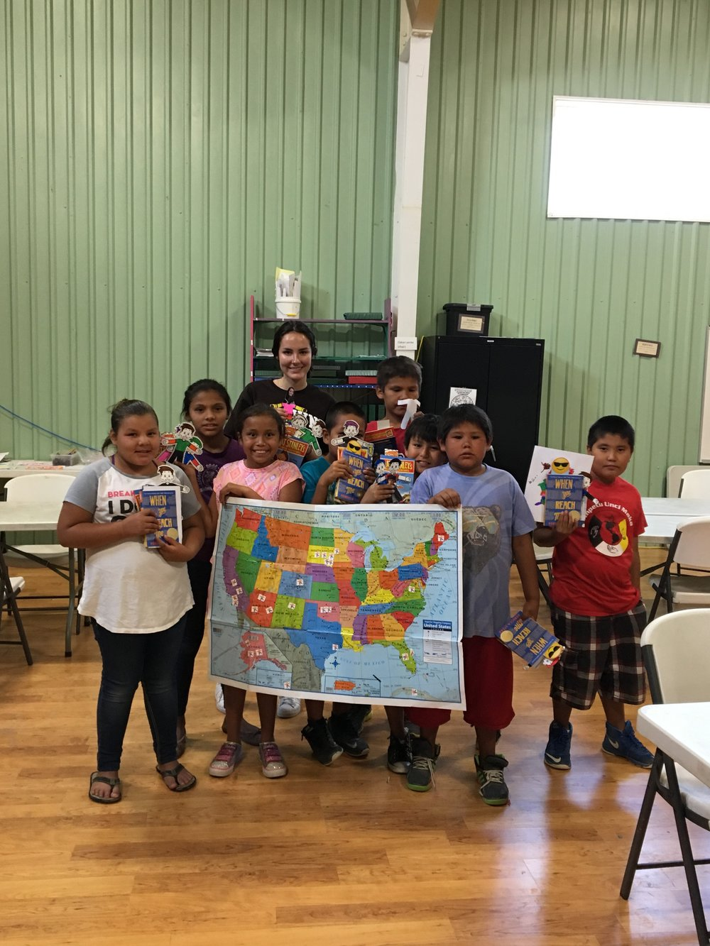 Rosebud Reads is dedicated to promoting literacy for the next generation of Natives living on the Rosebud Sioux Reservation and children living in low-income homes in Texas.
