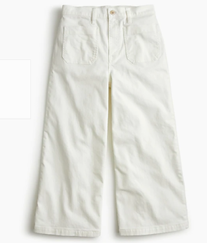 J. Crew wide-legged Point Sur