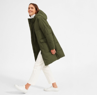 Everlane's making clothes from plastic bottles!