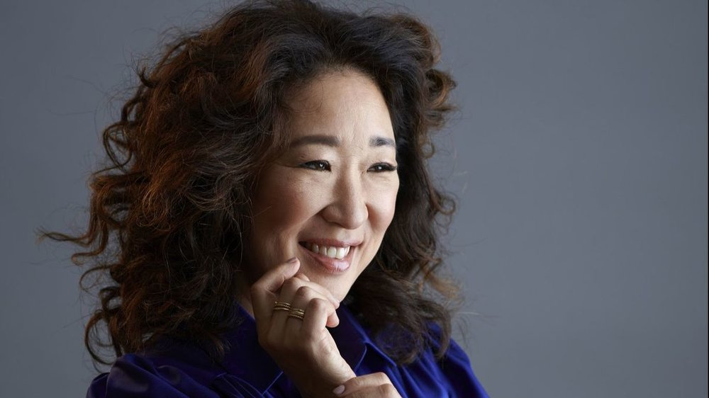 Sandra Oh - always a favorite on Grey's Anatomy - she is absolutely brilliant and has already won tons of awards for her work in the spy thriller series  Killing Eve  - second season starting this month!