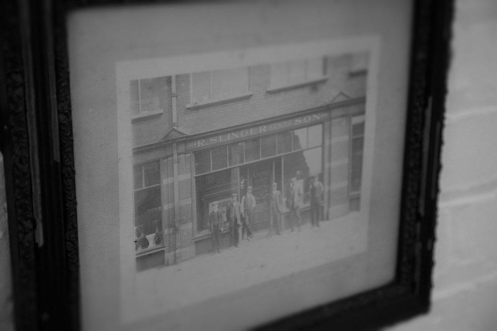 Slingers shop on Fishergate? around 1930???