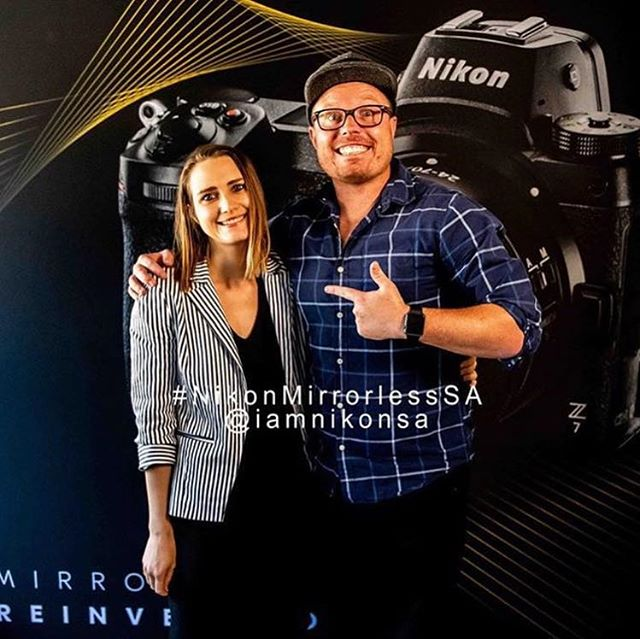 I can WIN the amazing Nikon Z6! Eeek... . Please help me by liking and commenting on this post. Would mean the world to me! Just maybe it increases my chance. 🤪 . I was at the @iamnikonsa launch of their new Mirrorless range yesterday morning as well as the VIP event in the evening and what beauties these two cameras are. Also extremely excited about the revolutionary lenses, because boy o boy do I LOVE a SHARP lens. . If you weren't there, you missed out. Swipe to hear what the Ambassadors, Albert Jap from Singapore and Grant Norton from Premium had to say. The Social Media stats Grant shared is amazing! . Always great to hear @brettflorens, @cmeintjes, @craigkolesky and @wim_van_den_heever speak. . Thank @riaanwest for keeping me company. Like I said, I hate being alone. 😂 . #nikonmirrorlesssa #nikon #nikonlady #nikonz7 #nikonz6 #nikonmirrorless #iamnikon #iaminspired #dreamersdisease