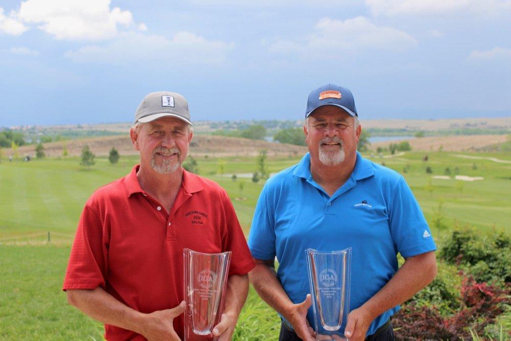 Senior Champions Jay Sutton & Dan Pickens