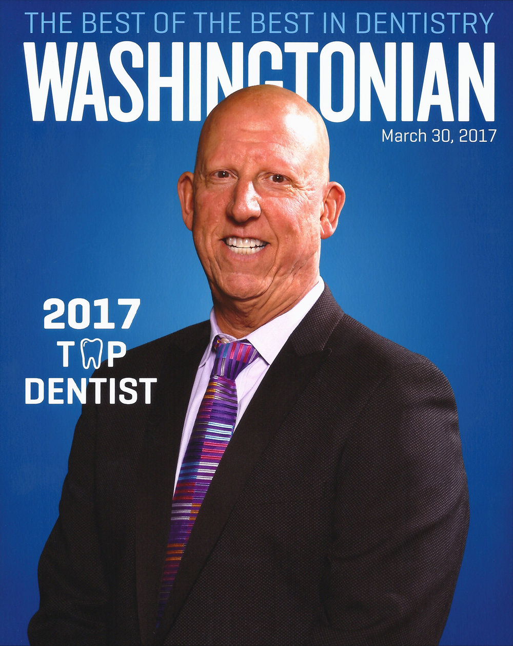 - Dr. Progebin has been featured in several magazines and has been recognized as one of Washington DC's Top Dentists by the Washingtonian since 1997.
