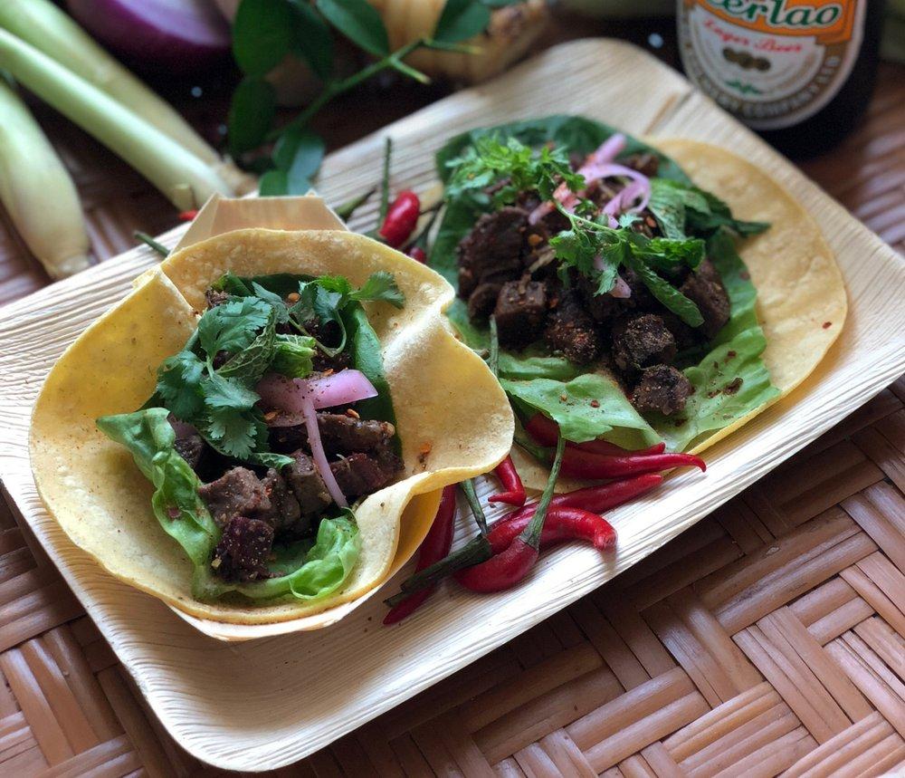 SXSE Food Co. - Prime rib lahb tacos