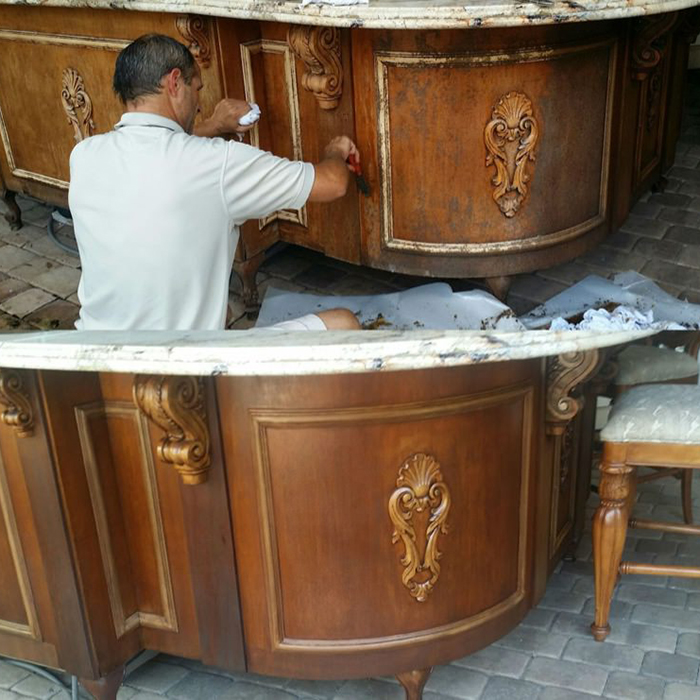 Touch Up Teak