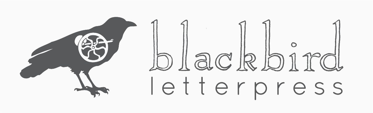 Blackbird Letterpress Wholesale