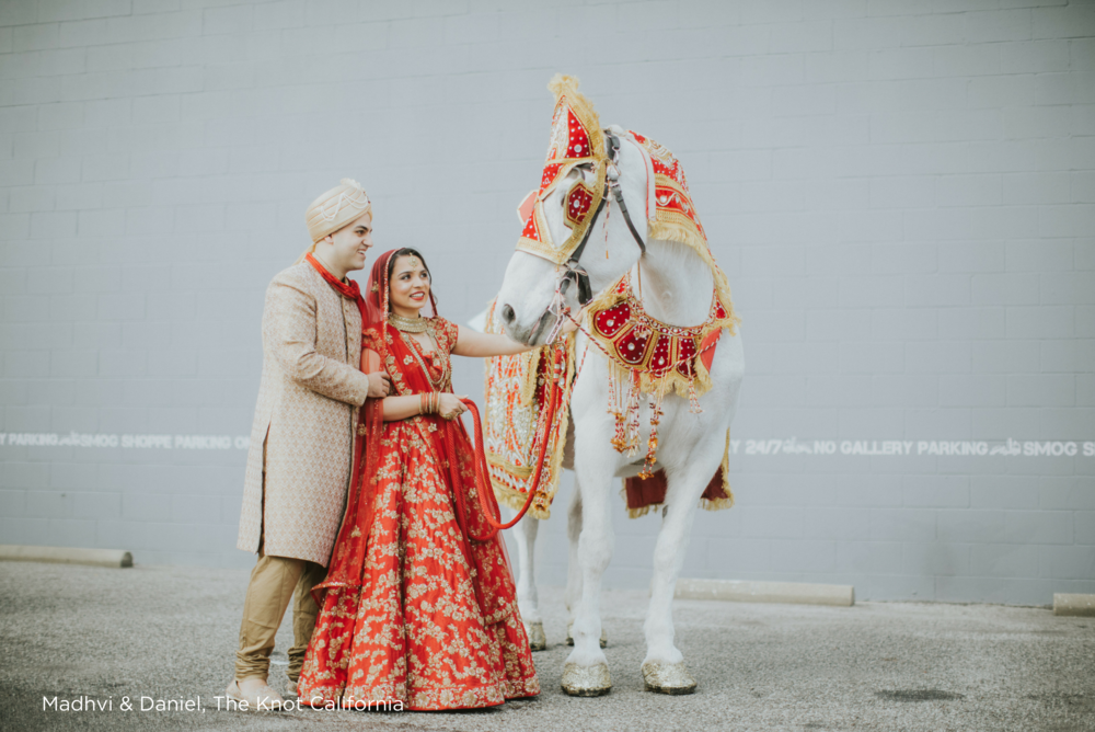Madhvi & Daniel, The Knot California