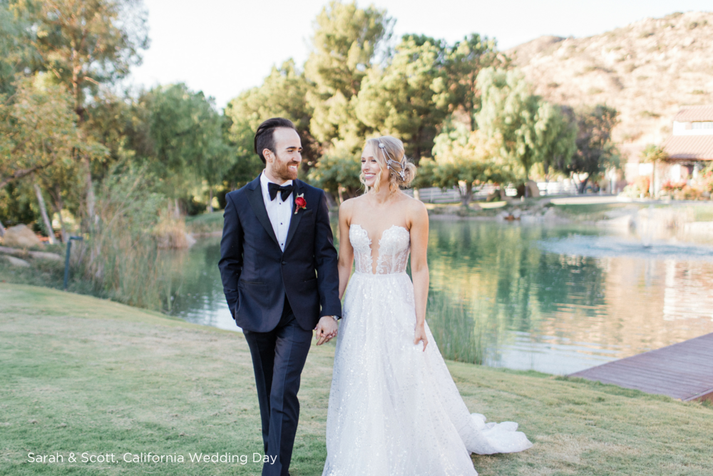 Sarah & Scott, California Wedding Day