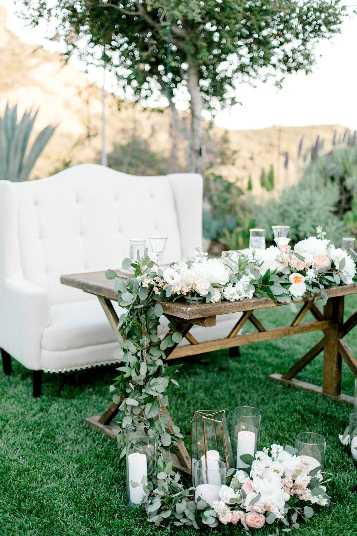 custom wedding decorations, custom wedding table, custom wedding flowers, Malibu wedding, outdoor California wedding, Mountain wedding, Los Angeles wedding     Orange Blossom Special Events