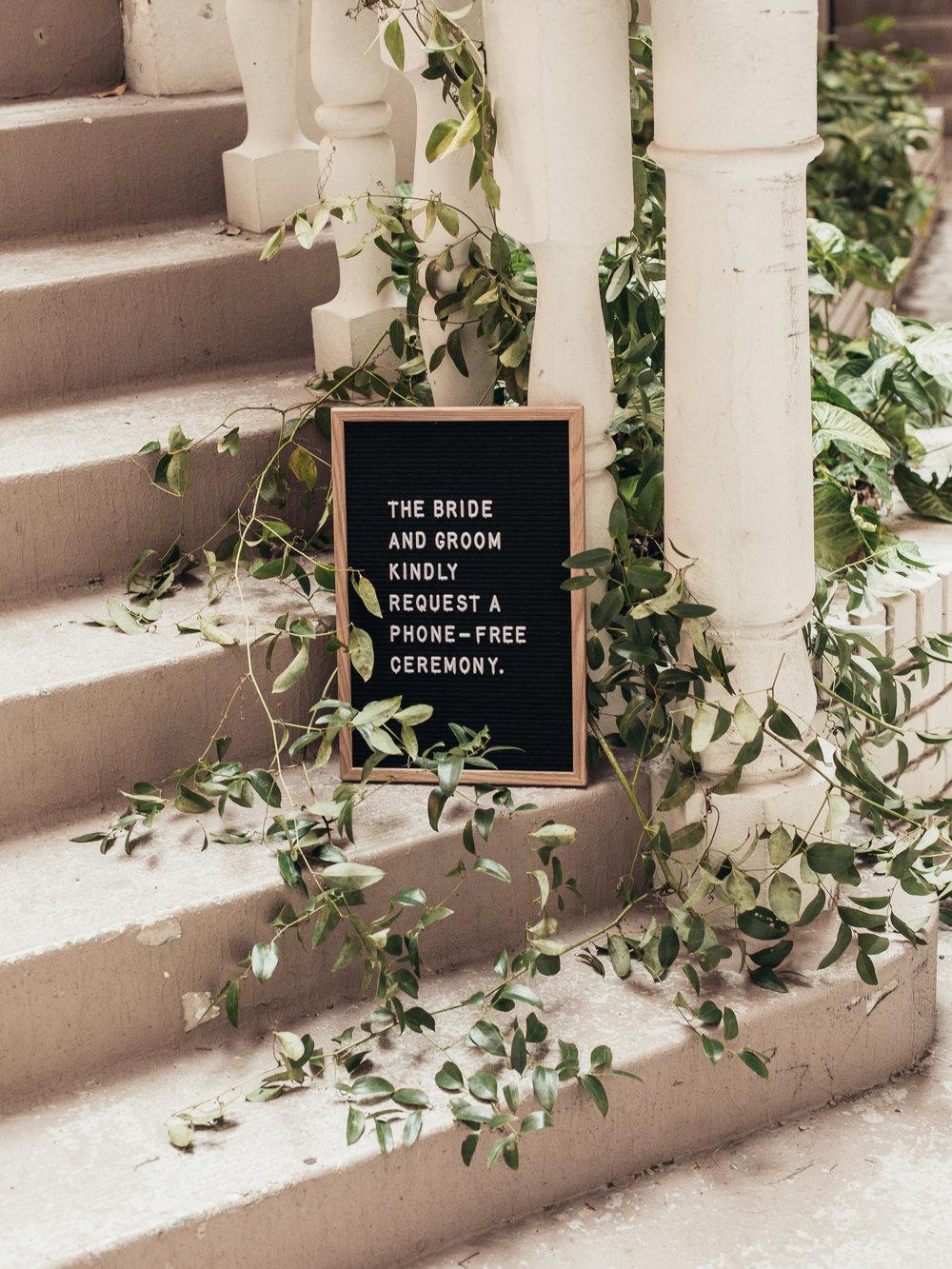 Custom Wedding Design, Los Angeles, Letterboard Sign, Floral Wedding Sign    Orange Blossom Special Events
