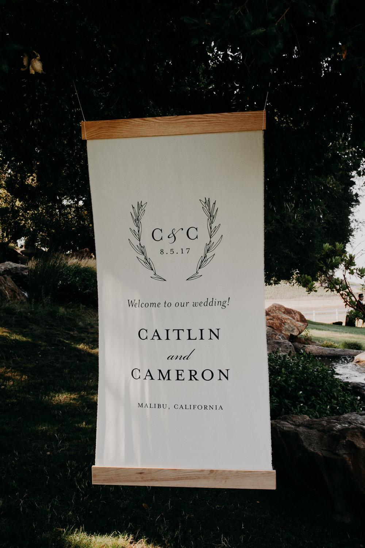 Custom Wedding Design, Los Angeles, Chalkboard Sign, Floral Wedding Sign    Orange Blossom Special Events